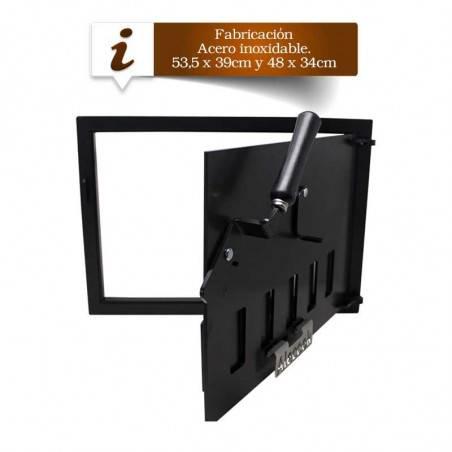 Puerta de hierro Rectangular Especial Hornos u hornilla