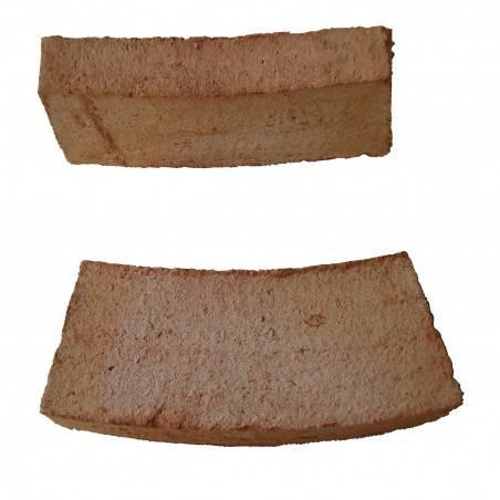 Ladrillo Curvo de barro de doble coccion