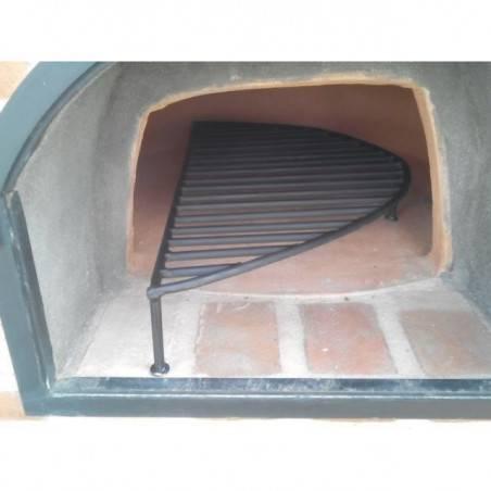 PARRILLA REDONDA METALICA para horno de barro refrectario