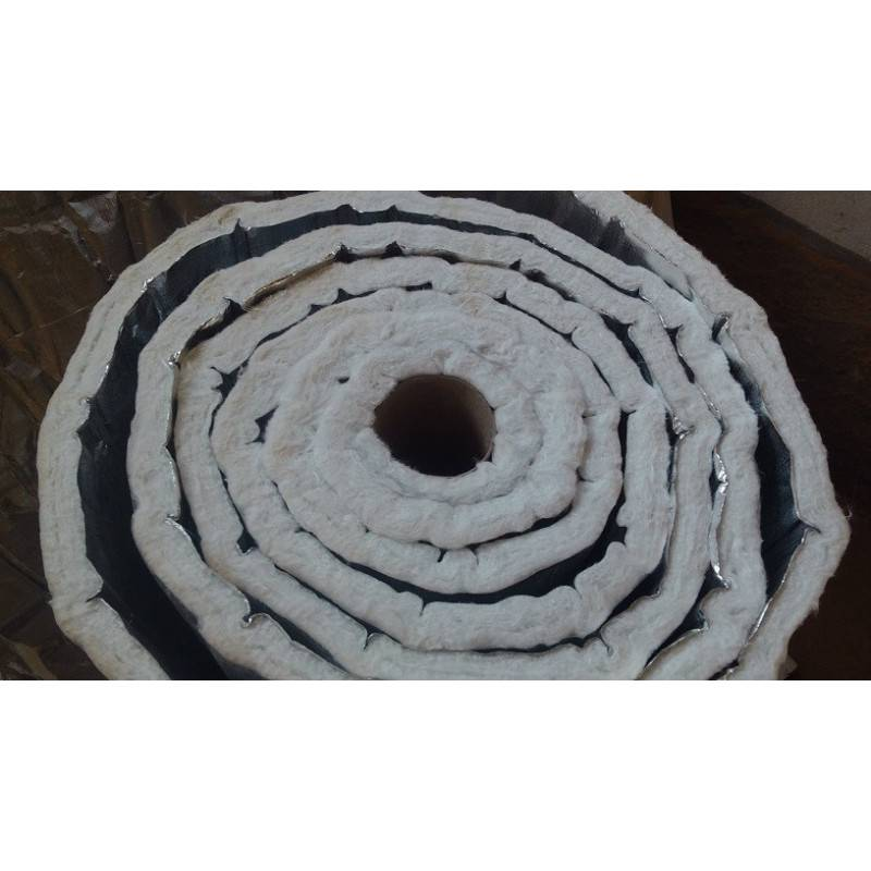 Aislante Fibra Cerámica y Aluminio Especial Horno Leña