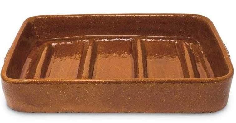 Asador rectangular para asar cochinillo