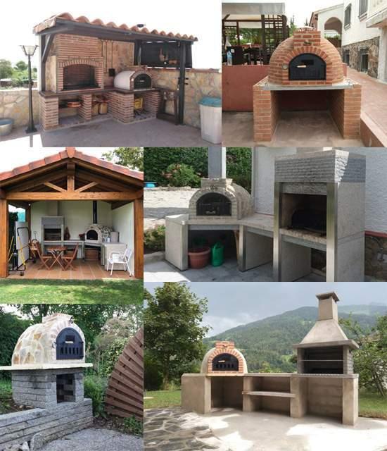 Ejemplos de instalaciones de hornos de leña