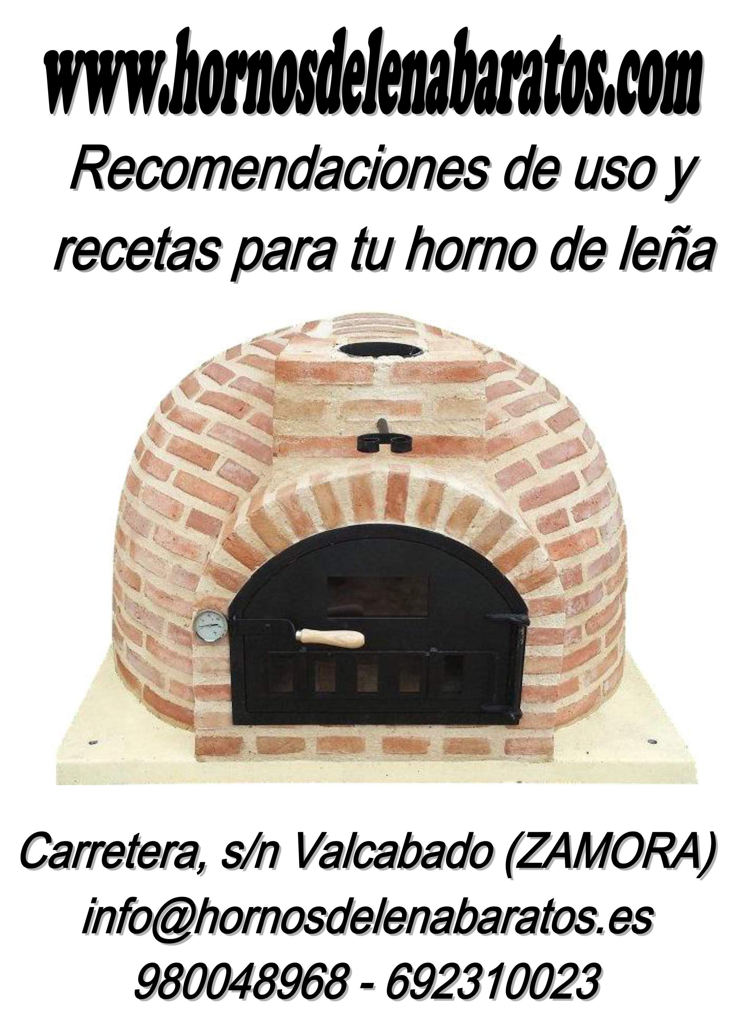 Recetario hornos de le a baratos for Hornos piroliticos baratos