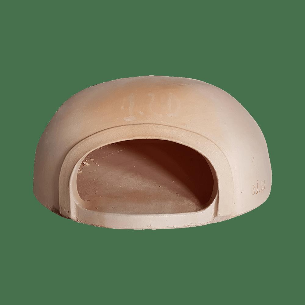 Cascarón de horno de barro de Pereruela fabricado por Hornos de Leña Baratos.