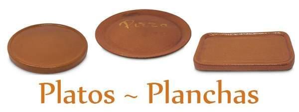Enlace para acceder a la categoria de platos de Barro refractario