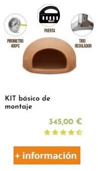 kit basico para fabricar un horno de leña