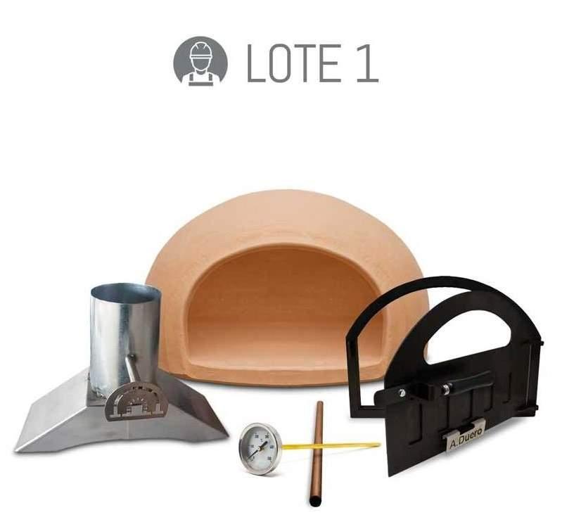 Kit básico para fabricar un horno de leña